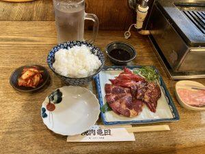 焼肉亀田定食