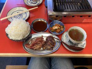 丹羽牛焼肉定食
