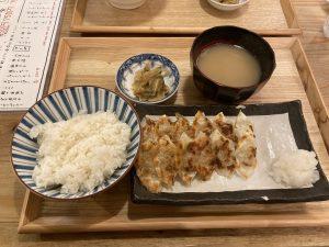 あめみや焼餃子定食