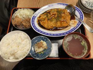 牛羽餃子おがわ玉子焼定食