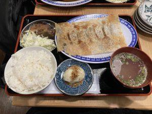 牛羽餃子おがわ餃子定食