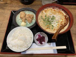 笹屋坦々ラーメン麺定食